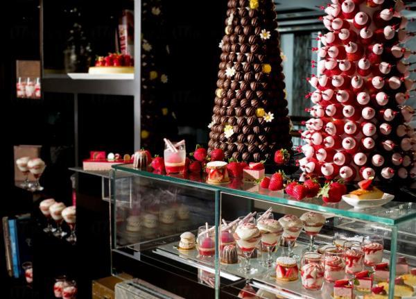9月限定!Ritz Carlton士多啤梨朱古力甜品巡禮