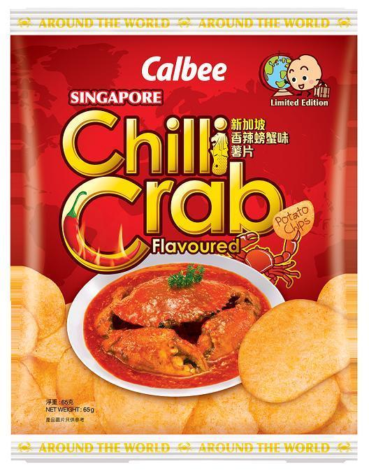 期間限定卡樂B新加坡香辣螃蟹味薯片