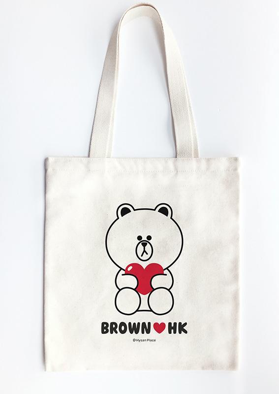 LINE Friends Store全面開幕 購物送Love Brown環保袋