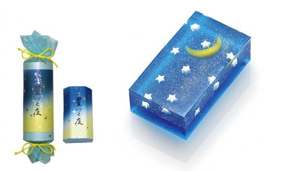 夏季限定!訂購日本人氣「星づく夜」菓子(圖:亀屋清永官網)