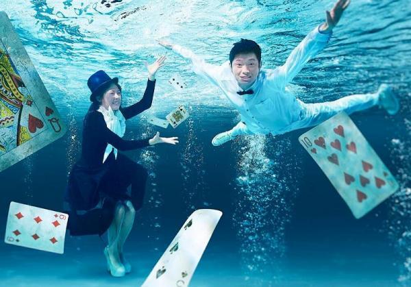 「拉埋大家落水」水底照 魔法女神Miss Hunny及YouTuber Ming仔