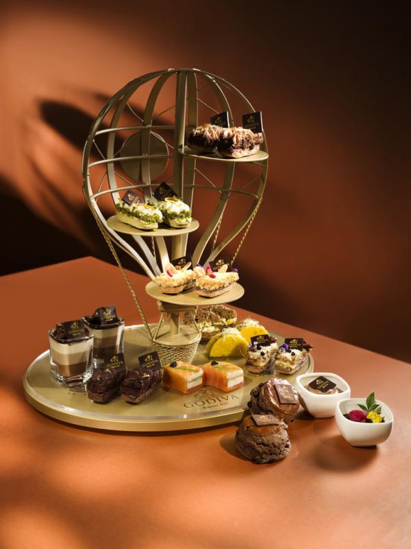 GODIVA x Ritz Carlton推出Sablés酥餅下午茶