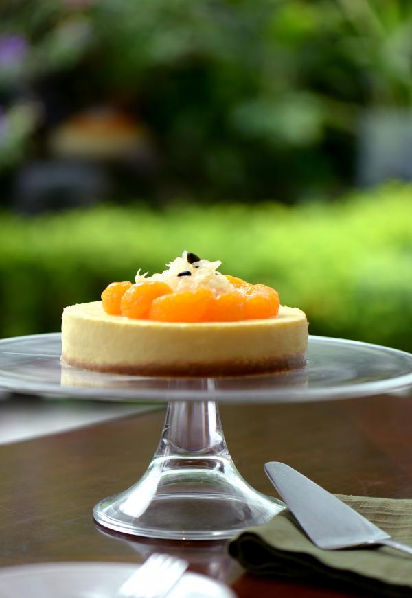 柚子柑桔芝士蛋糕