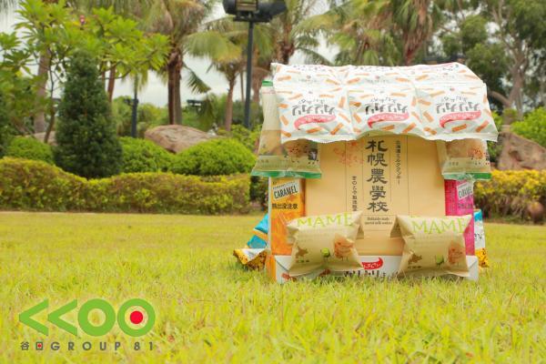 免費賞!谷日獨家限量日本北海道菓子背包