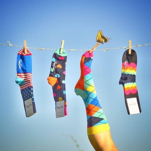 開心星期五 型男派Happy Socks 圖:FB@Happy Socks HK