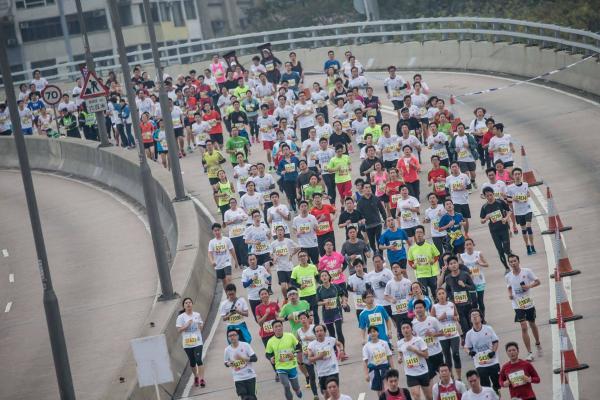 渣打香港馬拉松2016(圖:FB@Standard Chartered HK Marathon)