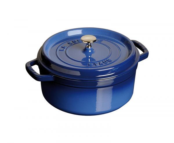必搶!法國staub圓形琺瑯鑄鐵鍋 24cm/2.35L (10個)
