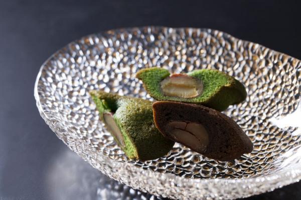 栗子金磚蛋糕 (兩款口味:抹茶 / 焙茶)