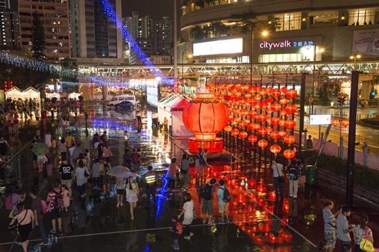 2014新界西中秋綵燈會相片(圖:康文署)