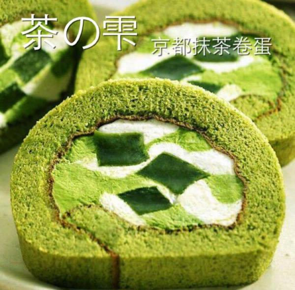 Luna Cake有售「茶の雫」京都抹茶卷蛋(圖:FB@Luna Cake)