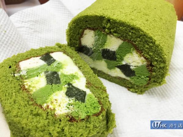 Luna Cake有售「茶の雫」京都抹茶卷蛋