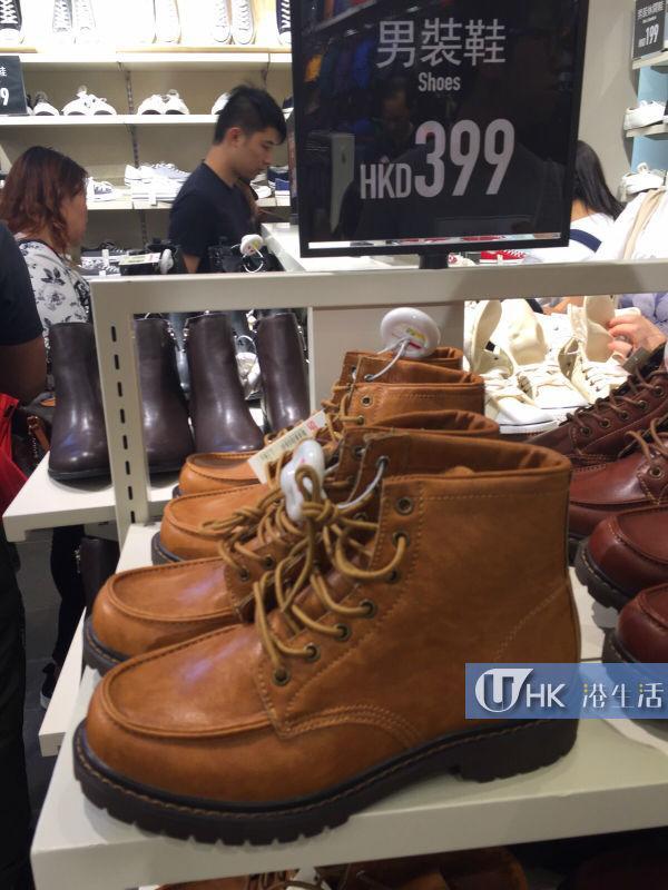 男裝鞋 $399