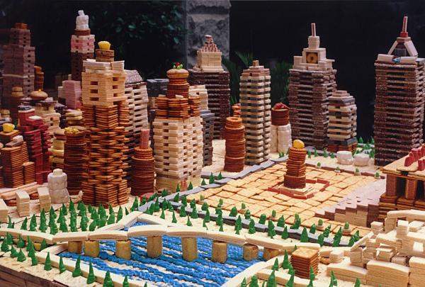宋冬《吃城市》(圖:© 宋冬  作品由佩斯香港及都爹利會館提供)