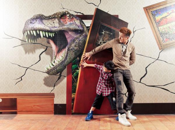 3D魔幻館化身恐龍世界 $20入場任影