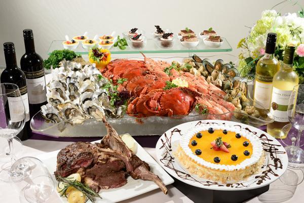 生日免費!珀麗酒店「蠔」華海鮮自助晚餐