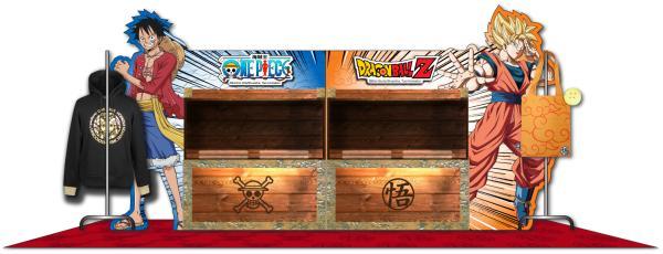 2大人氣動漫聯手!One Piece & Dragon Ball Z期間限定店