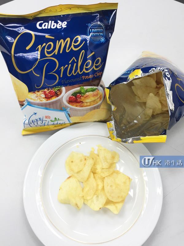 卡樂B推《法式焦糖燉蛋味薯片》試食報告