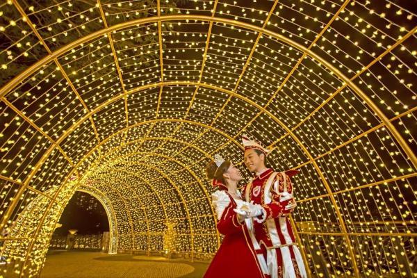 愉景灣聖誕燈飾2015