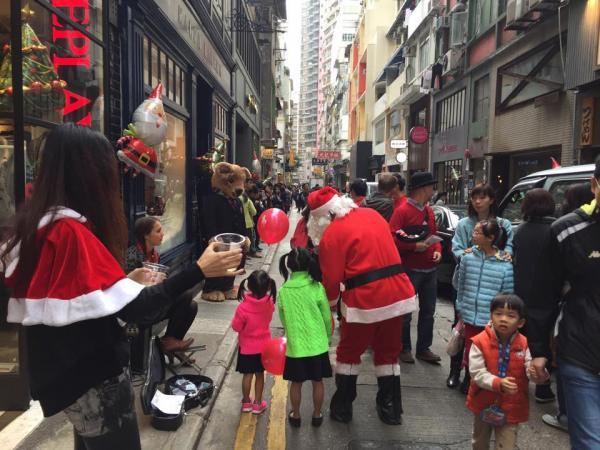 歌賦街聖誕市集2015(圖:fb@goughstreethk)