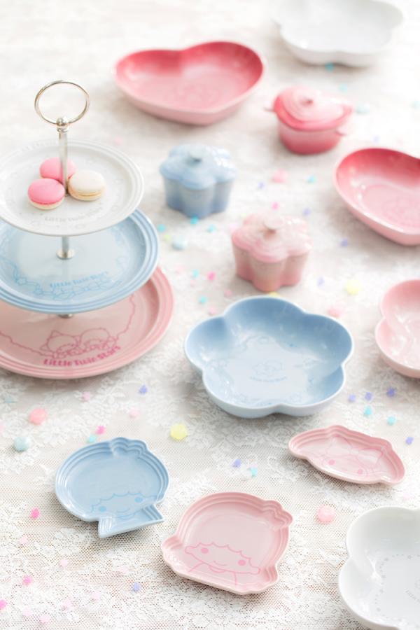 Le Creuset聯乘Sanrio 推出下午茶餐具系列(圖:官網)