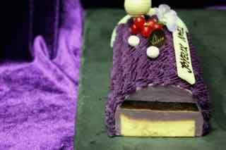 紫薯慕絲、黑糖啫喱、芝士蛋糕三重口感…wow