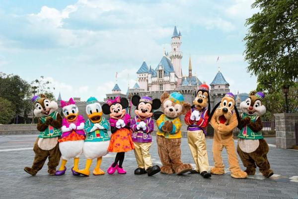 迪士尼10周年推情人節系列 米奇米妮成雙成對