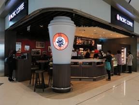 零售及餐飲品牌一覽!一號客運大樓中場客運廊
