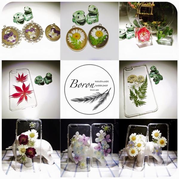 Boron Handmade Workshop的押花手作(圖: fb@麥田捕手﹒假日市集)