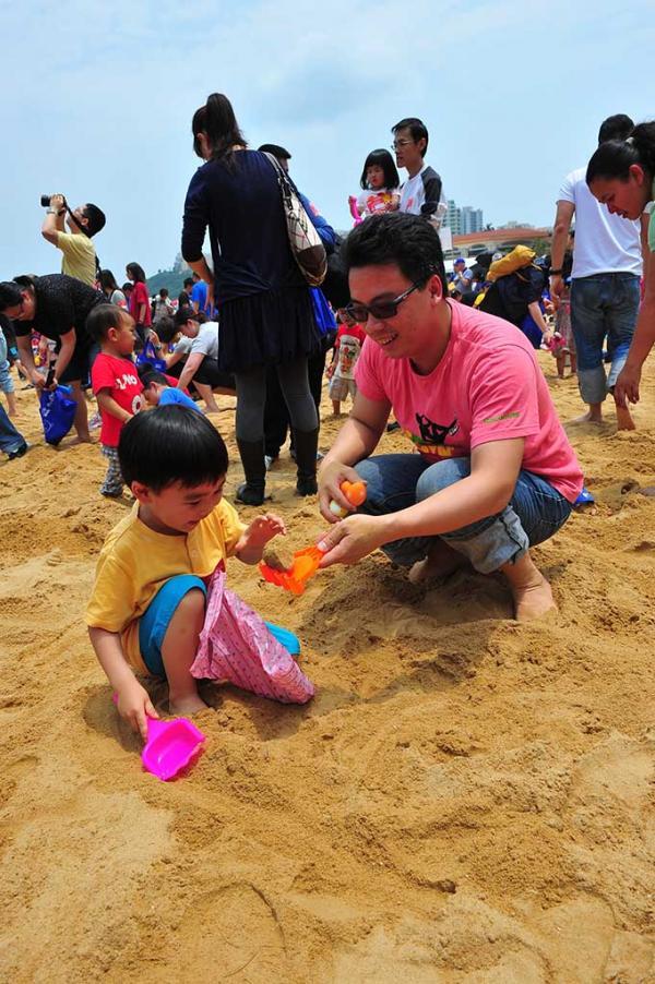 復活節親子好去處!愉景灣沙灘獵蛋奇兵