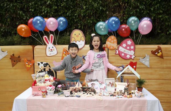 除親子及嬰兒產品外,攤檔亦售賣各式DIY製品