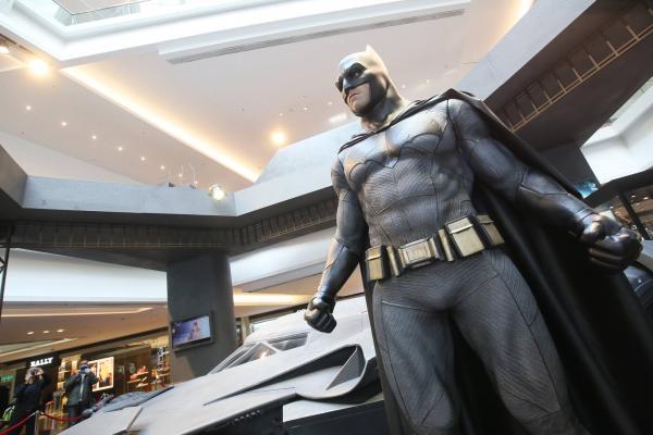 《蝙蝠俠對超人:正義曙光》電影展