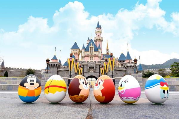 「好友同行」$328位!香港首個迪士尼花蛋節
