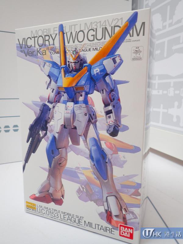 MG 1/100 V2 高達,售價$235