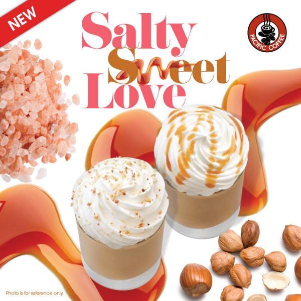 買一送一!Pacific Coffee 岩鹽牛奶咖啡系列
