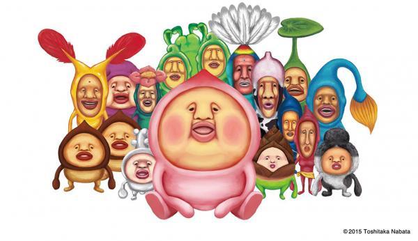 醜得可愛!DIM SUM ICON X 醜比頭點心登場(圖:FB@こびとづかん(KOBITO DUKAN)