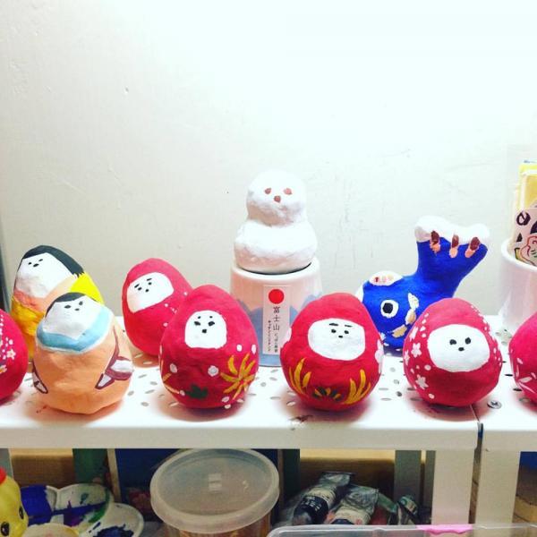 $38學製人形紙糊!日式雜貨店Hira Hira春祭  (圖: FB@Hira Hira Store)