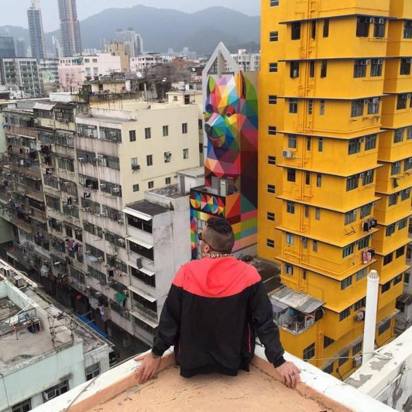 HKwalls第三屆街頭藝術節地圖 (FB@OKUDART)