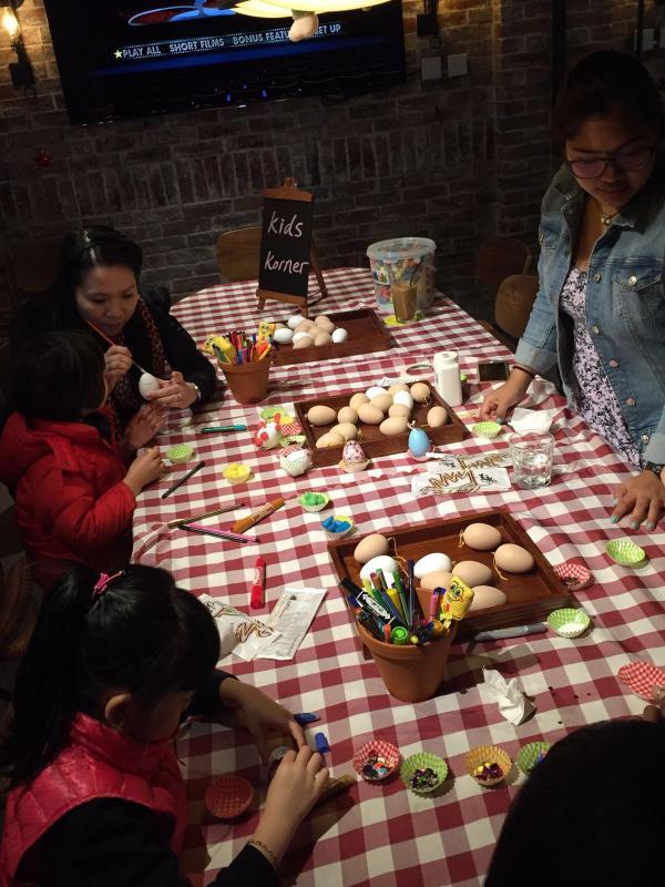 一家大細啱玩!元朗復活節早午自助餐+嘉年華