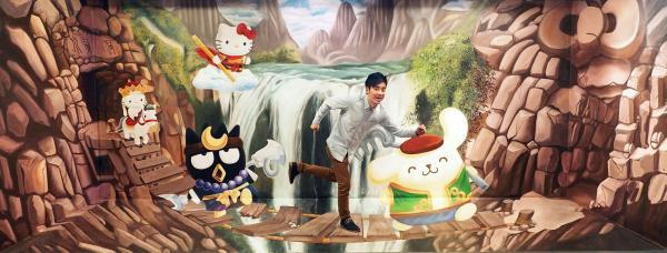 考試前放鬆下!香港3D奇幻世界推$80學生優惠(圖:FB@HK 3DMuseum)