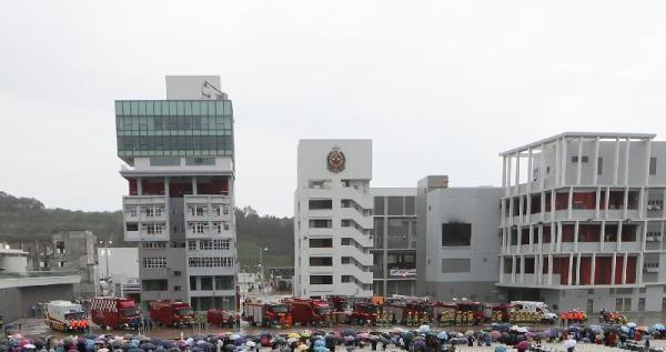 訪尋神秘百勝角車站!消防及救護學院再度開放 (圖:新聞公告)