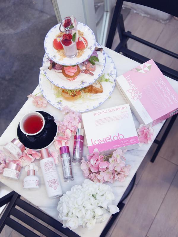 聯乘美容品牌!期間限定,大坑抵食夏日粉紅下午茶