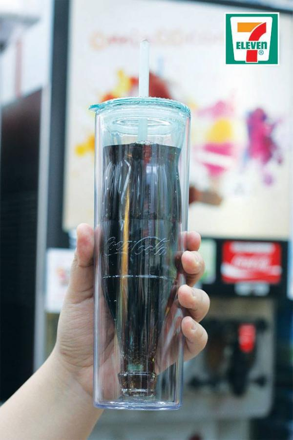 便利店新品!7-Eleven 可樂杯換購活動(圖:FB@7-Eleven HK)