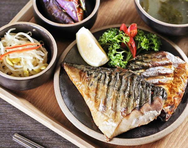 燒鯖魚套餐  $72