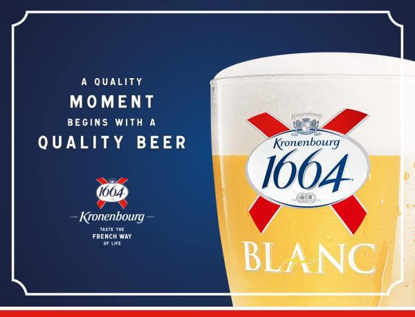 銅鑼灣玻璃屋鬆一鬆! Kronenbourg 1664 啤酒體驗區(圖:FB@Kronenbourg 1664)