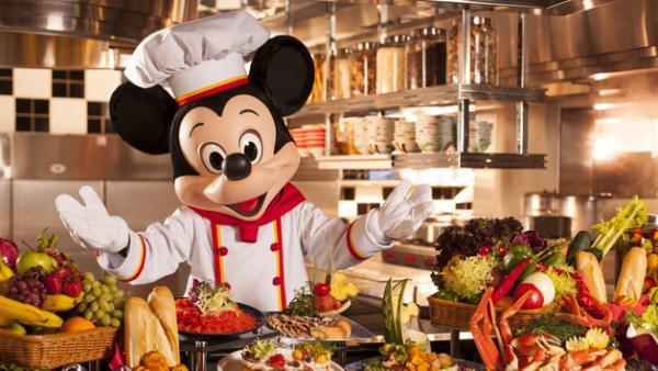 入園後去食!米奇廚師餐廳自助餐限時6折(圖:香港迪士尼樂園官網)