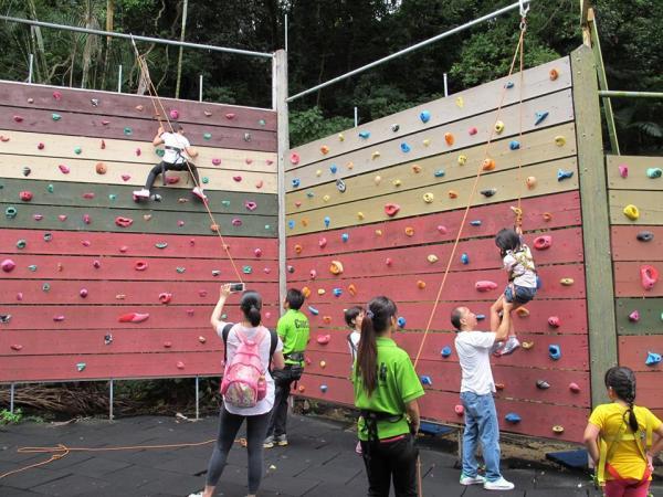 攀石(圖: fb@樹屋田莊)