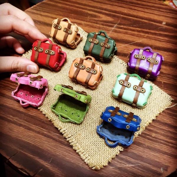 店家MG2Plus喜歡用皮革製作出生活中的小物。