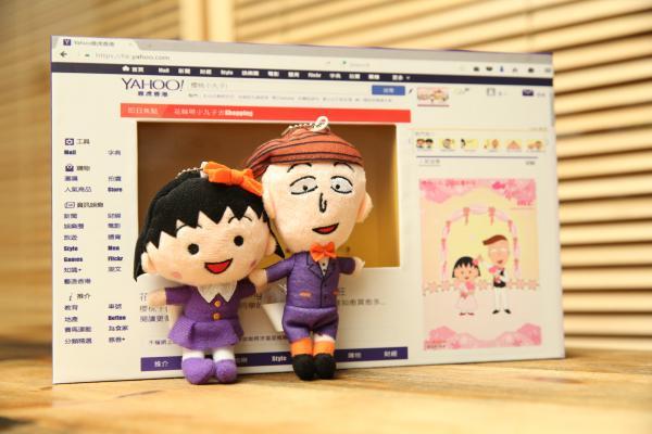 限定版「櫻桃小丸子 30週年x Yahoo」公仔