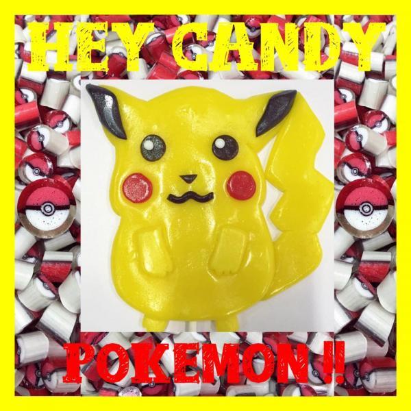 手工糖果店Hey Candy為大家製作比卡超形狀糖果