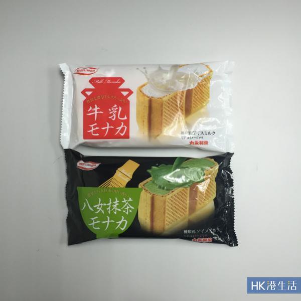 便利店新上架! 日本直送1吋厚雪糕三文治